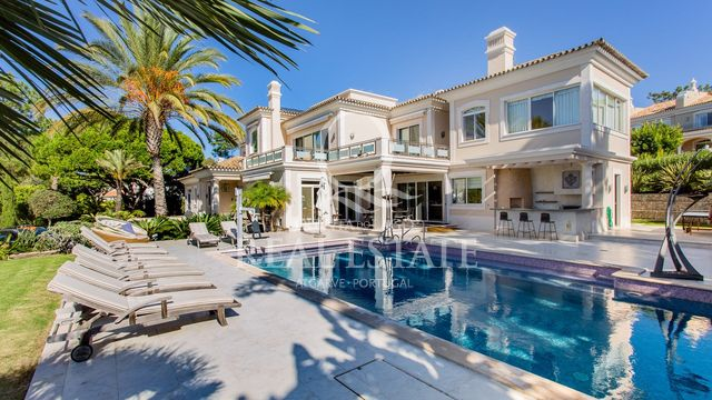 A luxury home in a beautiful location in Quinta do Lago